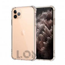 Прозорий ударостійкий силіконовий чохол для iPhone 11 PRO