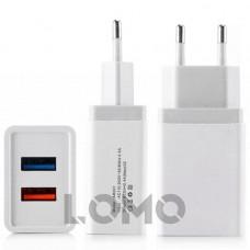 Адаптер для зарядки МЗП UKC Smart Charger 2.4A