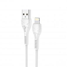Кабель HOCO X37 Anti-bending White Lightning to USB 1m