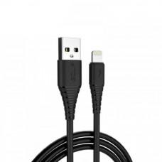 Кабель GOLF GC-64 Lightning to USB 3A 1m