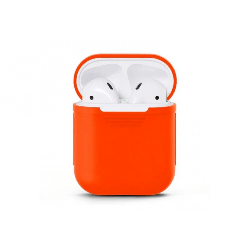 Чохол для Apple Airpods 1/2 силіконовий в асорт.