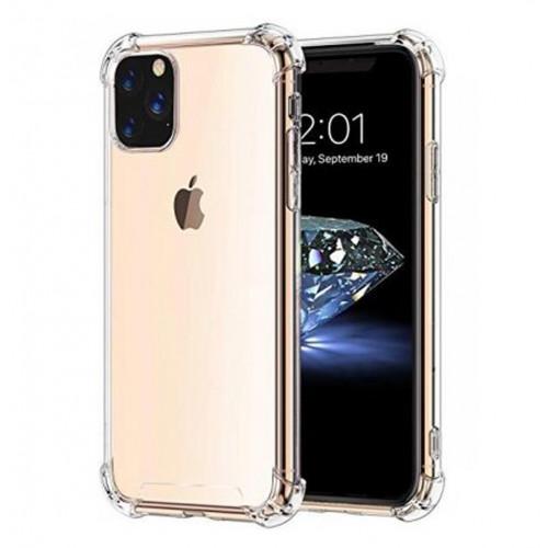 Прозорий ударостійкий силіконовий чохол для iPhone 11ProMAX