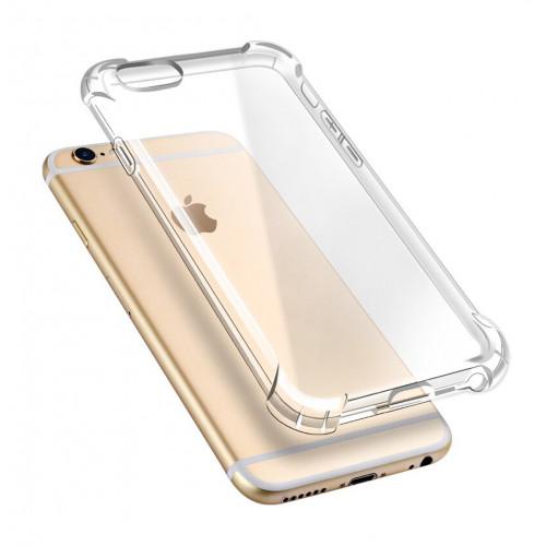 Прозорий ударостійкий силіконовий чохол для iPhone 6/6s