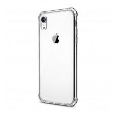 Прозорий ударостійкий силіконовий чохол для iPhone XR