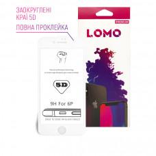 5D захисне скло LOMO для iPhone 6plus / 6s plus біле