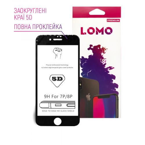 5D захисне скло LOMO для iPhone 7plus / 8plus чорне