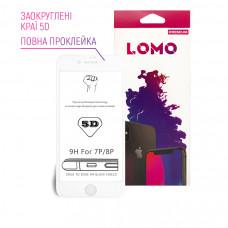 5D захисне скло LOMO для iPhone 7plus / 8plus біле