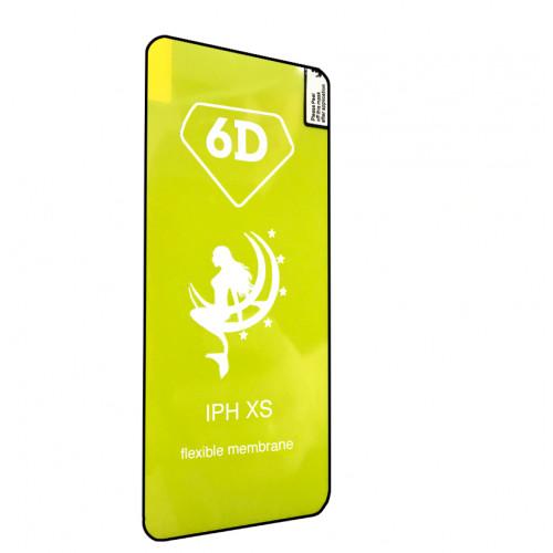 Захисна 6D плівка LOMO для дисплею iPhone X / Xs / 11PRO