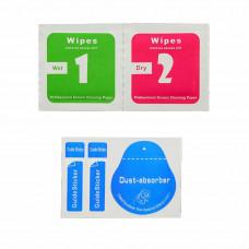 Захисна 6D плівка LOMO для дисплею iPhone 7plus / 8plus біла